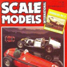 Hobbys: SCALE MODELS AÑO 1985 JULIO. Lote 243551760