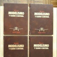 Hobbys: CURSO DE MODELISMO Y RADIO CONTROL (4 TOMOS). Lote 247526310