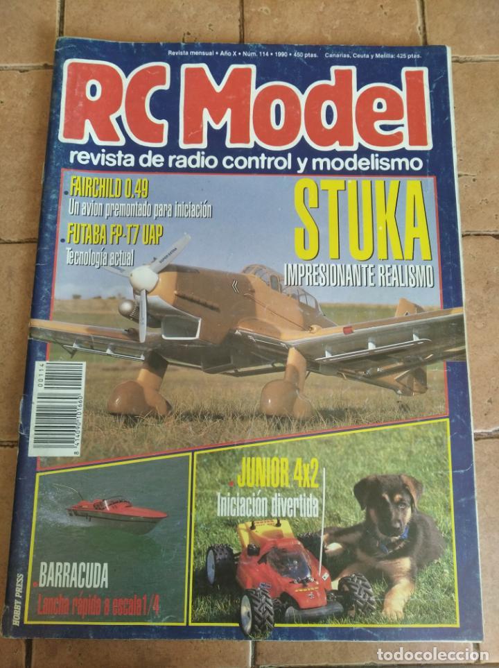 RC MODEL, REVISTA DE RADIOCRONTROL Y MODELISMO - AÑO 1990 - Nº 114 (Juguetes - Modelismo y Radiocontrol - Revistas)