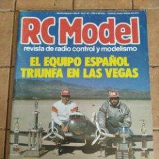 Hobbys: RC MODEL, REVISTA DE RADIOCRONTROL Y MODELISMO - AÑO 1990 - Nº 107. Lote 254707850
