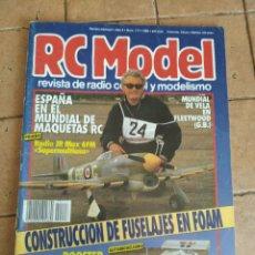 Hobbys: RC MODEL, REVISTA DE RADIOCRONTROL Y MODELISMO - AÑO 1990 - Nº 117. Lote 254708290