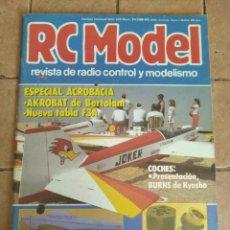 Hobbys: RC MODEL, REVISTA DE RADIOCRONTROL Y MODELISMO - AÑO 1988 - Nº 87. Lote 254710460