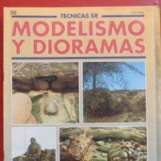 Hobbys: MODELISMO Y DIORAMAS Nº 36. Lote 262020185
