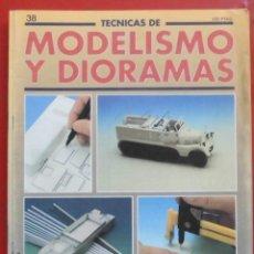 Hobbys: MODELISMO Y DIORAMAS Nº 38. Lote 262020200