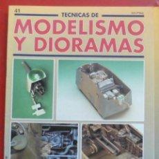 Hobbys: MODELISMO Y DIORAMAS Nº 41. Lote 262020275