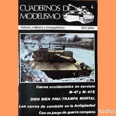 Hobbys: REVISTA CUADERNOS DE MODELISMO 4 (CON WARGAME). ¡OCASIÓN!. MUY DIFÍCIL DE ENCONTRAR.... Lote 265752284