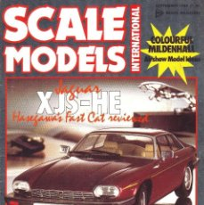 Hobbys: SCALE MODELS AÑO 1986 SEPTIEMBRE. Lote 269026009