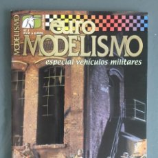 Hobbys: EUROMODELISMO EURO MODELISMO ESPECIAL VEHICULOS MILITARES Nº 1 MARZO 2002. Lote 269344843