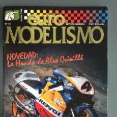 Hobbys: EUROMODELISMO EURO MODELISMO Nº 74 SEPTIEMBRE 1998. Lote 269458028