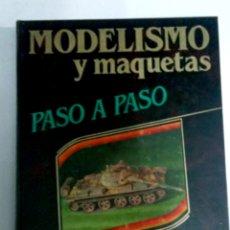 Hobbys: MODELISMO Y MAQUETAS - PASO A PASÓ - 4 TOMOS - HOBBY PRESS - 1985 - + 1000PAG. Lote 272328413