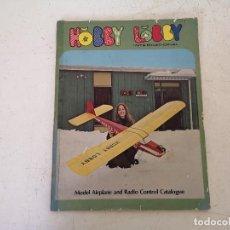 Hobbys: PUBLICACIÓN DE MODELISMO Y RADIOCONTROL, HOBBY LOBBY INTERNACIONAL, 1970´S, EN INGLÉS. Lote 276406763