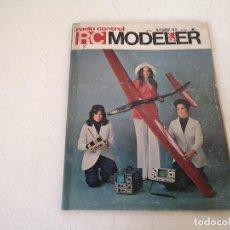Hobbys: PUBLICACIÓN DE MODELISMO Y RADIOCONTROL, RC MODELER, 1970´S, EN INGLÉS. Lote 276407203