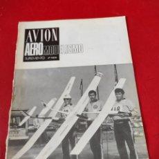 Hobbys: REVISTA AVIÓN SUPLEMENTO AEROMODELISMO N⁰7-8 (1979). Lote 276714678