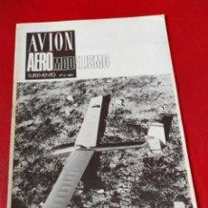 Hobbys: REVISTA AVIÓN SUPLEMENTO AEROMODELISMO N⁰2 (1981). Lote 276716203