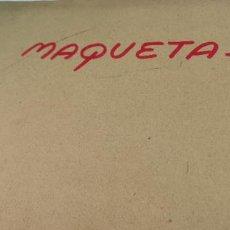 Hobbys: CARPETA CON FOTOGRAFIAS ORIGINALES DE MAQUETAS DE BUQUES,ETC. Lote 276820568