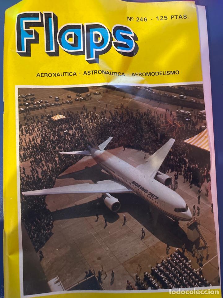 REVISTA FLAPS NÚMERO 246 (Juguetes - Modelismo y Radiocontrol - Revistas)
