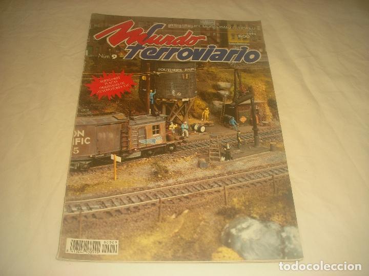 MUNDO FERROVIARIO N. 9 . REVISTA DE MODELISMO. (Juguetes - Modelismo y Radiocontrol - Revistas)