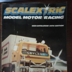 Hobbys: SCALEXTRIC. MODEL MOTOR RACING 1983 CATALOGUE 24TH EDITION (INGLÉS) HORNBY HOBBIES. Lote 287101293