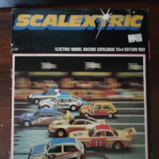 Hobbys: SCALEXTRIC. ELECTRIC MODEL RACING CATALOGUE 23RD EDITION 1982 (INGLÉS) HORNBY HOBBIES. Lote 287102228