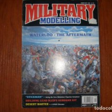Hobbys: REVISTA MILITARY MODELLING MODELISMO MILITAR WATERLOO (INGLÉS). Lote 287869693