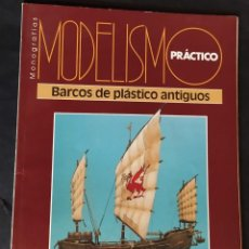 Hobbys: MODELISMO PRÁCTICO. BARCOS ANTIGUOS. Lote 287991378