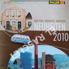 Hobbys: REVISTA FALLER - NEUHEITEN 2010 -. Lote 293271273