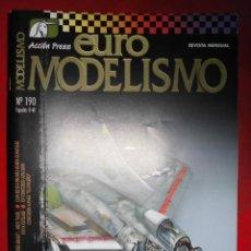 Hobbys: EUROMODELISMO Nº 190. Lote 295776763