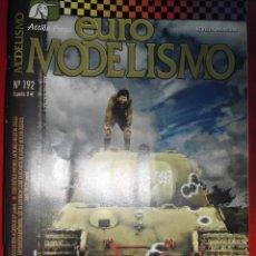 Hobbys: EUROMODELISMO Nº 192. Lote 295777023