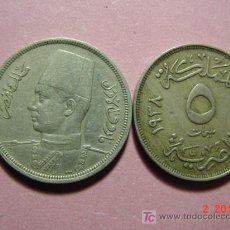 Monedas antiguas de África: 1846 EGIPTO EGYPT EGYPTE ESCASA MONEDA MAS EN MI TIENDA TC COSAS&CURIOSAS. Lote 3539084