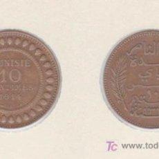 Monedas antiguas de África: TUNEZ - 10 CENTS 1914.A - E.B.C. - COBRE. Lote 26424462