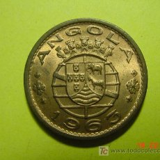 Monedas antiguas de África: 2347 ANGOLA AÑO 1963 PRECIOSA UN ESCUDO SIN CIRCULAR MIRA MAS EN MI TIENDA COSAS&CURIOSAS. Lote 5948562