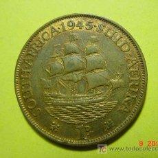 Monedas antiguas de África: 3047 SUD AFRICA 1 PENIQUE AÑO 1945 - MIRA MAS MONEDAS DE ESTE PAIS EN COSAS&CURIOSAS. Lote 9087084