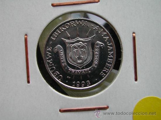 BURUNDI 1 FRANC 1993 (Numismática - Extranjeras - África)