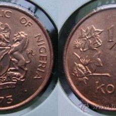 Old Coins of Africa - NIGERIA 1/2 kobo (0,50 kobo) 1973 - 21907367