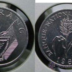 Monedas antiguas de África: RUANDA RWANDA 1 FRANC 1985. Lote 37058837