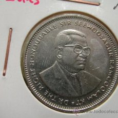 Old Coins of Africa - MAURICIO Islas 1 RUPIA 1990 - 25421230