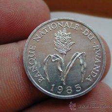 Monedas antiguas de África: RUANDA RWANDA 1 FRANC 1985. Lote 25511236