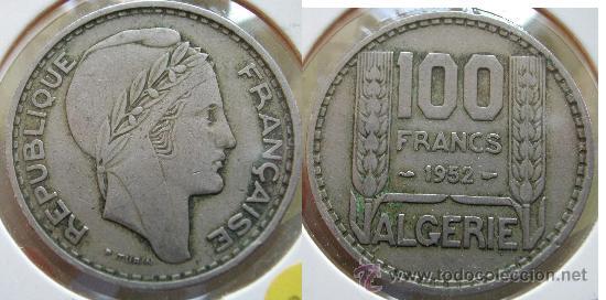 Resultado de imagen de Franco argelino MONEDA