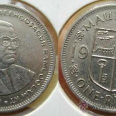 Old Coins of Africa - MAURICIO ISLAS 1 RUPIA 1987 - MAURITIUS - 25581643