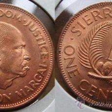 Monedas antiguas de África: SIERRA LEONA 1 CENT 1964. Lote 25581783
