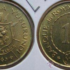 Monedas antiguas de África: BURUNDI 1 FRANC 1965. Lote 25613199