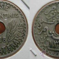 Monedas antiguas de África: TUNEZ TUNISIA 25 CENTIMES CENTIMOS 1918, PROTECTORADO FRANCÉS. Lote 27101250