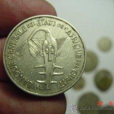 Monedas antiguas de África: AFRICA DEL OESTE 100 F. AÑO 1969 - OCASION !! - PONGO A DIARIO DECENAS EN VENTA A PRECIOS BAJOS. Lote 26308311
