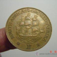 Monedas antiguas de África: 1453 SUDAFRICA 1 PENNY AÑO 1945 OCASION !!- PONGO A DIARIO DECENAS EN VENTA A PRECIOS BAJOS. Lote 26575807