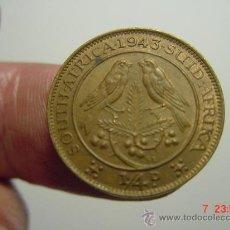 Monedas antiguas de África: 1646 SUDAFRICA FARTHING AÑO 1943 - OCASION !! - A DIARIO DECENAS EN VENTA A PRECIOS BAJOS. Lote 26625896
