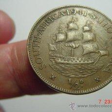 Monedas antiguas de África: 1651 SUDAFRICA 1/2 PENNY AÑO 1941 - OCASION !! - A DIARIO DECENAS EN VENTA A PRECIOS BAJOS. Lote 26625904