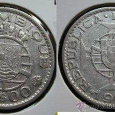 Monedas antiguas de África: MOZAMBIQUE 20 ESCUDOS 1960 PLATA. Lote 26662945