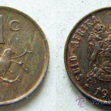 Old Coins of Africa - SUDAFRICA 1 CENT 1989 SOUTH AFRICA Compra varios lotes y paga un porte solo - 26802353