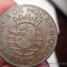 Monedas antiguas de África: 223 MOZAMBIQUE MONEDA DE 1 ESCUDO 1945 OCASION !!!! A DIARIO MONEDAS A PRECIOS BAJOS. Lote 27849480