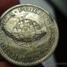 Monedas antiguas de África: 224 MOZAMBIQUE MONEDA DE 10 ESCUDOS PLATA 1952 OCASION !!!! A DIARIO MONEDAS A PRECIOS BAJOS. Lote 27849494
